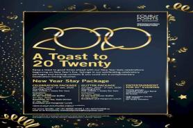Raise A Toast To 20 Twenty With Four Points By Sheraton Mahabalipuram Resort And Convention Center