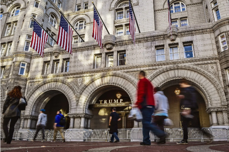 Christian Advocates Booked Trump Hotel To Coincide With White House Briefing