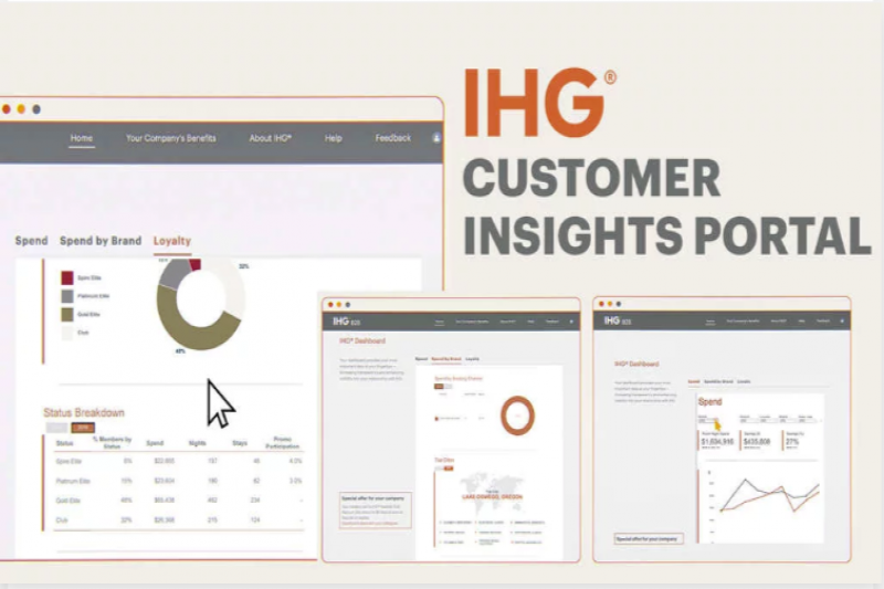 IHG® Launches Customer Insights Portal For Large Enterprises, A Hotel Industry First