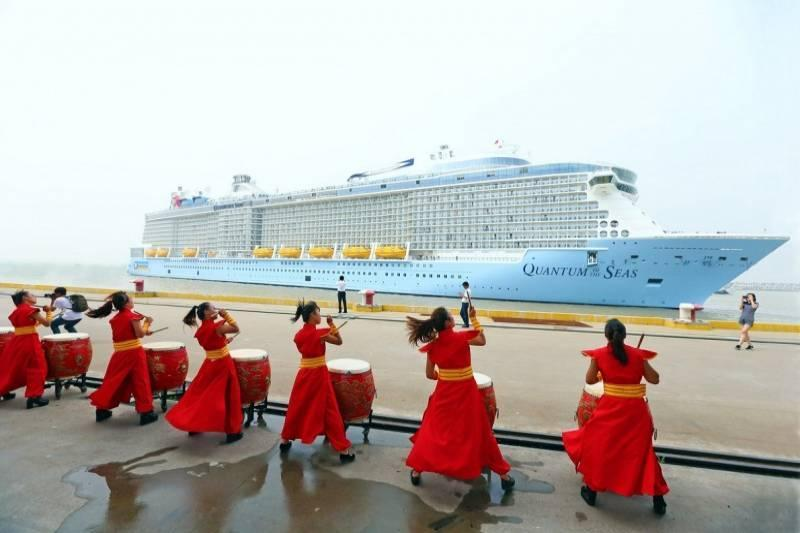 China Is 7.6 Percent Of The Global Cruise Industry