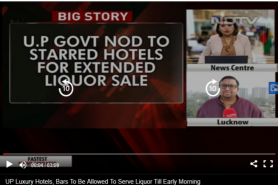 UP Luxury Hotels, Bars To Be Allowed To Serve Liquor Till Early Morning