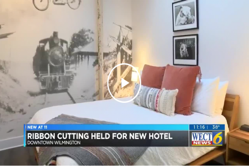 Ribbon cutting ceremony held for Wilmington boutique hotel
