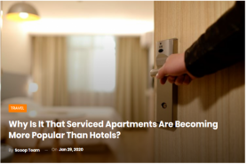 Why Is It That Serviced Apartments Are Becoming More Popular Than Hotels? - Scoop Empire