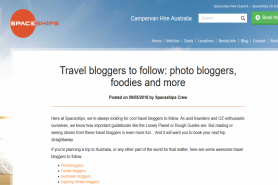 Travel Bloggers To Follow: Photo Bloggers, Foodies And More