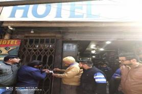 5 Hotels Sealed, Rs53L Recovered
