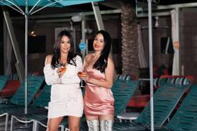 Hotel Valley Ho Hosts 'Cabanas After Dark' Series With Bella Twins
