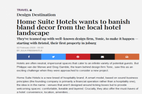 Home Suite Hotels Wants To Banish Bland Decor From The Local Hotel Landscape