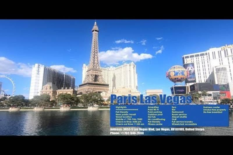 Hotels in Las Vegas without/with resort fees | Paris Hotel Las Vegas Strip |