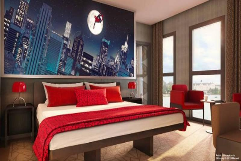 More Concept Art, Themed Suites and Room Types Revealed for Upcoming Disney's Hotel New York - The Art of Marvel - WDW News Today