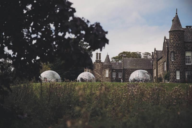 Hotel introduces third 'dome' as diners lap up Covid-safe outdoor eating concept