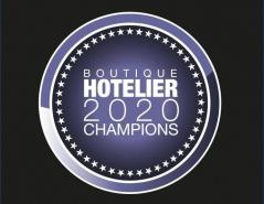 BREAKING NEWS: Shortlists announced for Boutique Hotelier 2020 Champions Awards