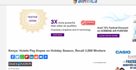 Kenya: Hotels Peg Hopes on Holiday Season, Recall 3,000 Workers