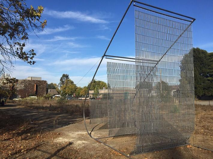 Temporary sculpture garden grows on hotel site