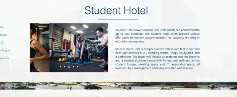 Dorms not allowed, but 'student hotel' in Richmond advertised