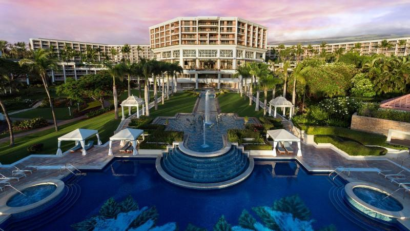 A reopened Grand Wailea changes with the times