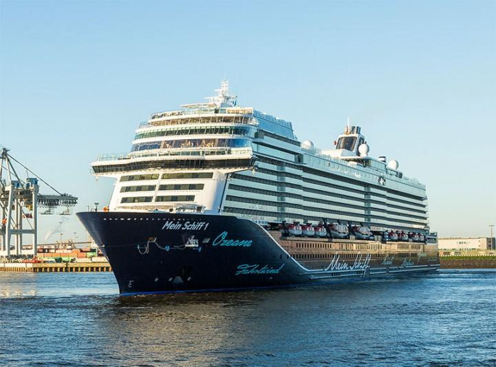 Mein Schiff 1 to Takeover for Mein Schiff 6 in Canaries for TUI Cruises