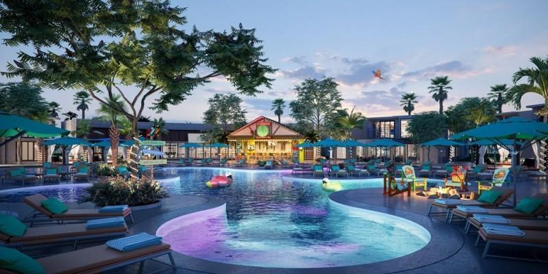 Jimmy Buffett's Margaritaville opens huge resort in California