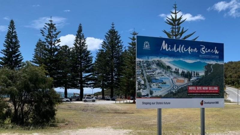 Hotel at Albany's Middleton Beach secured with land sale