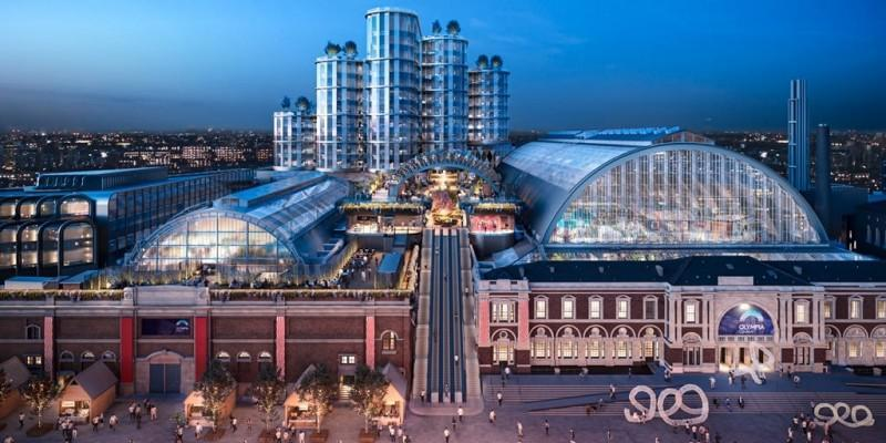Hyatt Regency London Olympia plans unveiled