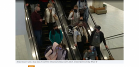 Health Experts Concerned About Holiday Travel Numbers