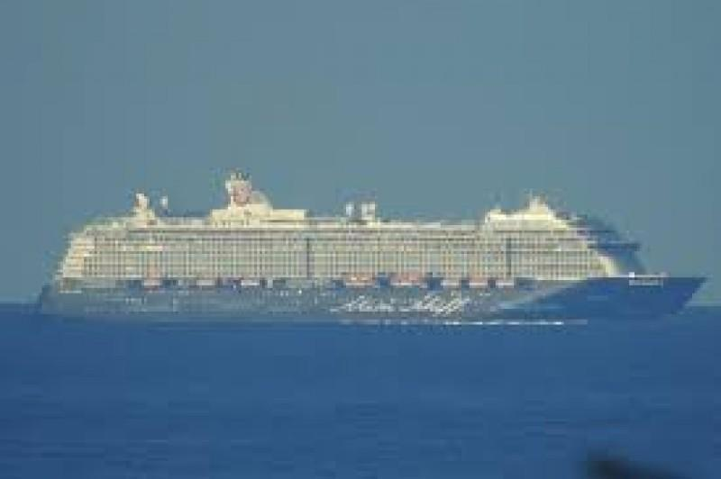 Two Cruise Ships Make It To Funchal for New Years Eve