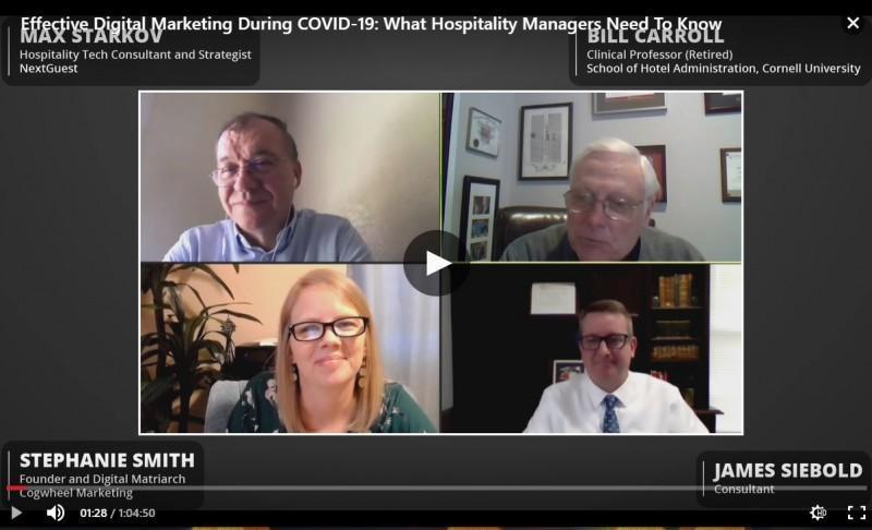 eCornell Webinar: Effective Digital Marketing During COVID-19
