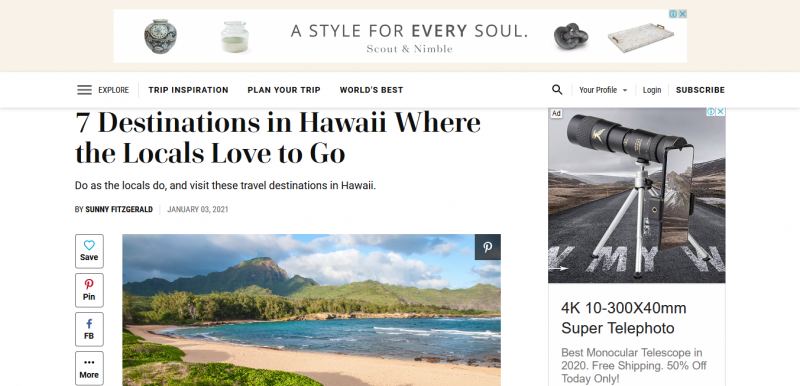 7 Destinations in Hawaii Where the Locals Love to Go