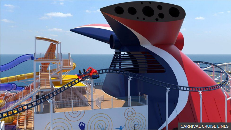 Can onboard rollercoasters save the cruise industry
