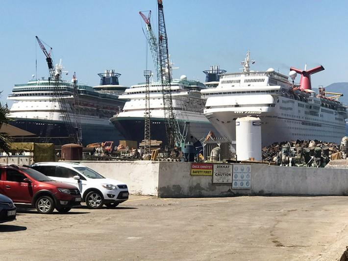 How to Scrap a Cruise Ship and What They Go For