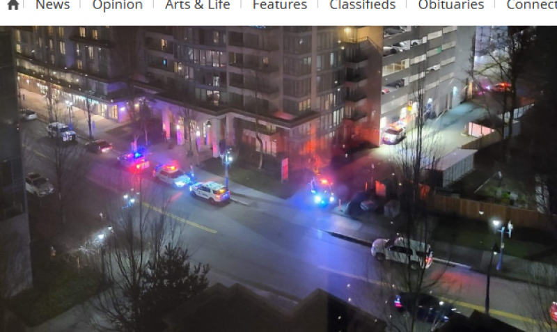 Police surrounded Richmond hotel after