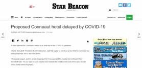 Proposed Conneaut hotel delayed by COVID-19
