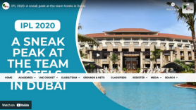 IPL 2020: A sneak peek at the team hotels in Dubai