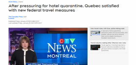 After pressuring for hotel quarantine, Quebec satisfied with new federal travel measures