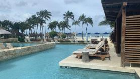 Poolside perfection at Aruba's Hyatt Regency