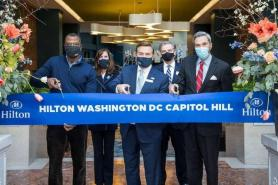 Former Washington Court Hotel Rebrands as Hilton Washington D.C. Capitol Hill