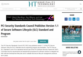 PCI Security Standards Council Publishes Version 1.1 of Secure Software Lifecycle (SLC) Standard and Program