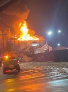 Community pulls together after hotel blaze