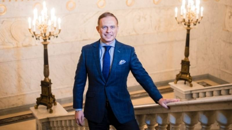 Richard Raab Appointed General Manager of Four Seasons Hotel Lion Palace St. Petersburg