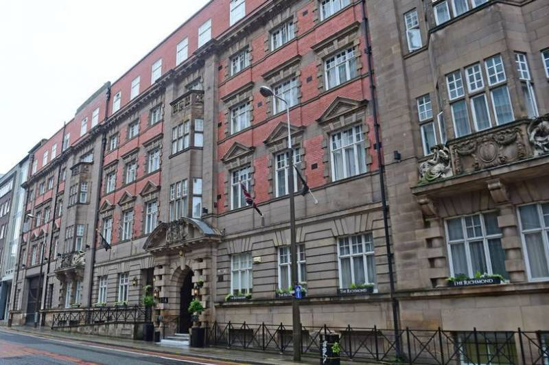 Liverpool Police bust hotel lockdown party with 150 guests and 'white powder' on desk