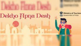 "Ministry of Tourism showcases tourism assets under ""Dekho Apna Desh"" campaign"