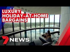 Melbourne hotels rolling out the red carpet for families and couples | 7NEWS