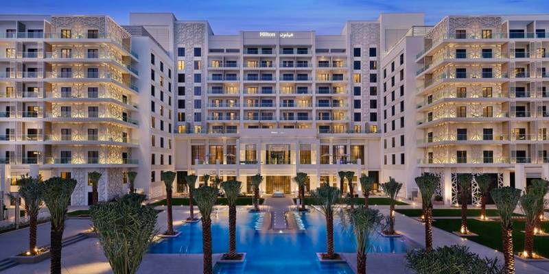 Hilton Abu Dhabi Yas Island is now open