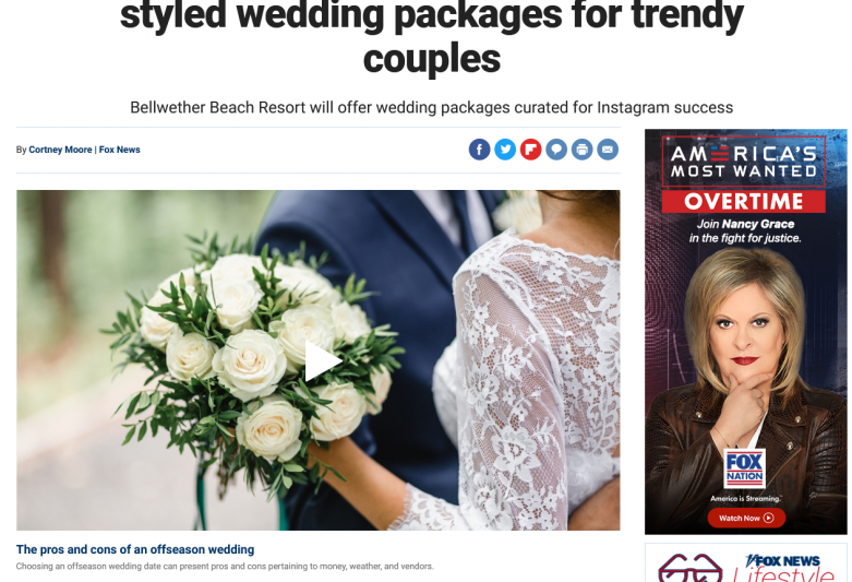 Florida hotel plans to have influencer-styled wedding packages for trendy couples