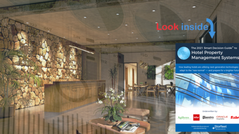 The 2021 Smart Decision Guide to Hotel Property Management Systems Helps Hoteliers Ensure Technology Success