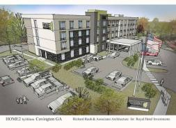 Royal Hotel Investments Breaks Ground On Home2 Suites In Covington, Georgia