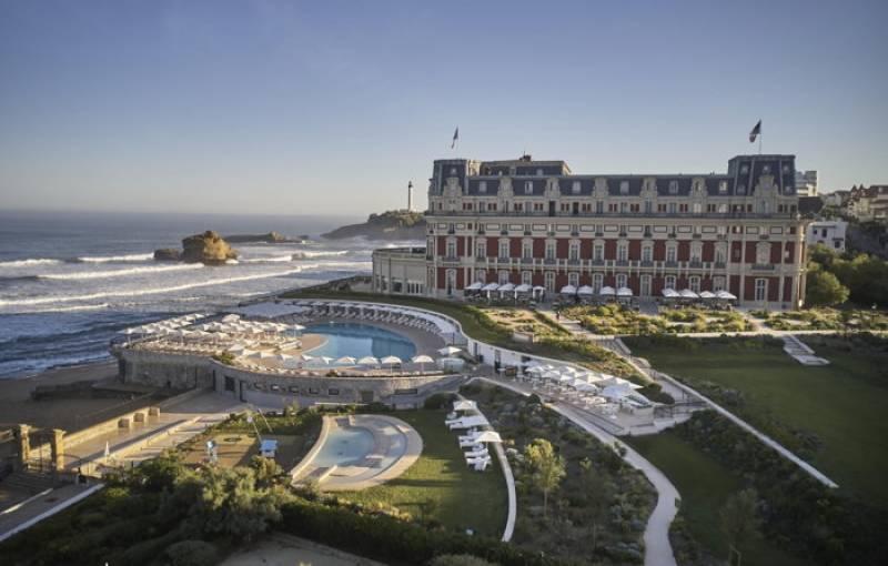 Hôtel Du Palais in Biarritz Opens in France