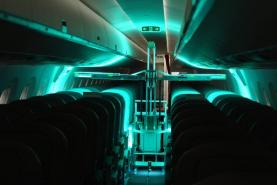 Swiss start-up trials UV light cleaning robots to make air travel safer