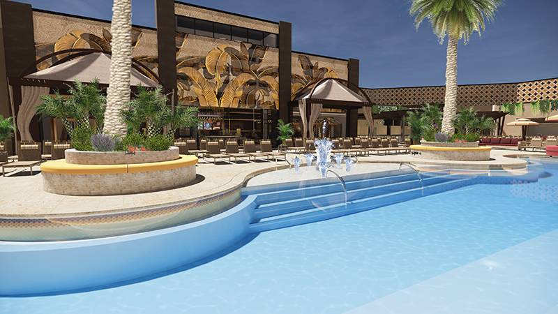 Sahara Las Vegas Adds Italian Restaurant, Reveals New Pool Plans