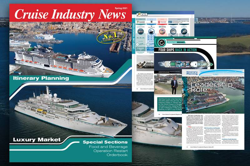 Cruise Industry News Spring 2021 Quarterly Magazine Out Now