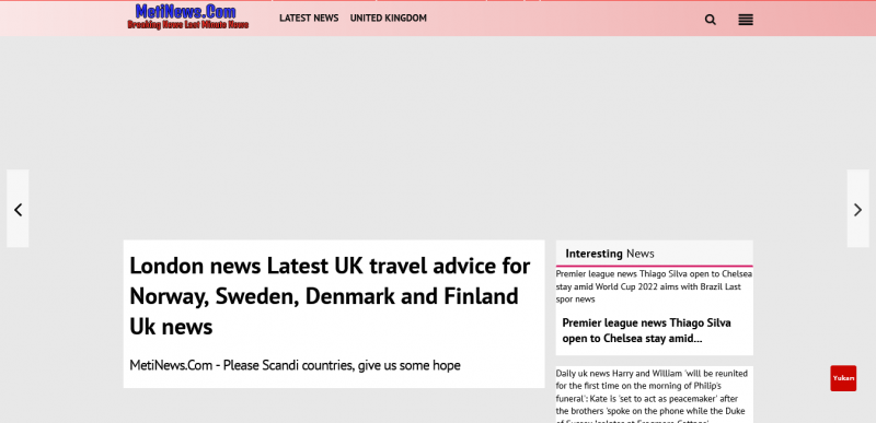 London news  Latest UK travel advice for Norway, Sweden, Denmark and Finland Uk news